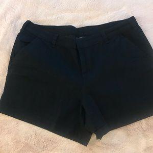 Lane Bryant black shorts